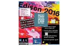 Edison 2016 - Introduktion