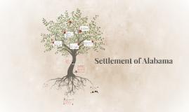 Settlement of Alabama