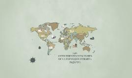 ANTECEDENTES Y FACTORES EXPANSIÓN EUROPEA