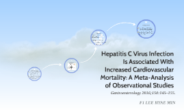 Hepatitis C Virus Infection Is Associated With Increased Cardiovascular Mortality