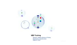 GED Training