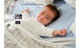 Le sommeil aux soins intensifs: Peut-on dormir sur nos deux