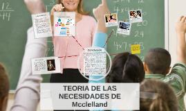 Copy of Copy of TEORIA DE LAS NECESIDADES DE Mcclelland