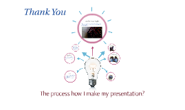 The process how I make my presentation?