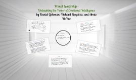 Copy of Primal Leadership - Unleashing the Power of Emotional Intel