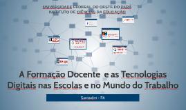 Formação docente  e Tecnologias digitais nas escolas e no Mu