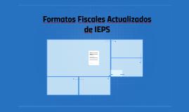 Formatos Actualizados de IEPS