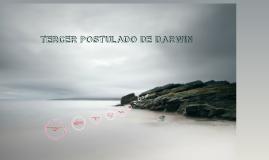 tercer postulado de darwin