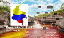 Copy of Organizacion Territorial de Colombia