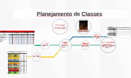 Planejamento de Classes