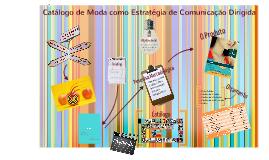 Marketing Direto - Catalogo de Moda como Comunicação Direta