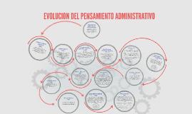 Copy of EVOLUCION DEL PENSAMIENTO ADMINISTRATIVO