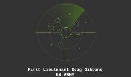 First Lieutenant Doug Gibbons