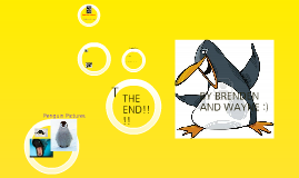 Penguin Food And Predators BY Wayne And BRENDEN
