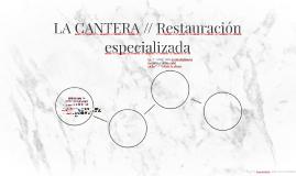 LA CANTERA // Restauración especializada