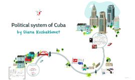 Copy of Political system of Cuba