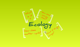 Copy of Copy of Biology Chapter 3 - Ecology