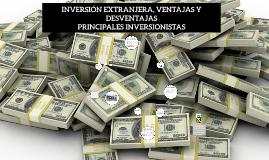 Copy of VENTAJAS E INCONVENIENTES DE LA INVERSIÓN EXTRANJERA DIRECTA