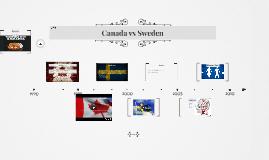 Canada vs Sweden