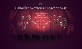 Cluster Challenge 4: Canadian Women's impact on war
