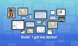 Student Device Orientation