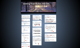 Getting Your Rubric into D2L