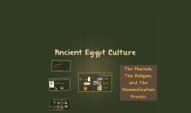 Ancient Egypt Social Topics