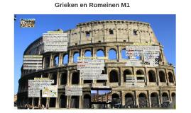 M1 Grieken en Romeinen