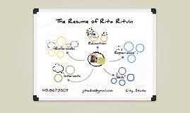 White Board Prezumé by Rita Ritvin