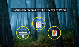 Discuss the Terms of The Treaty of Paris