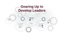 Developing Leaders