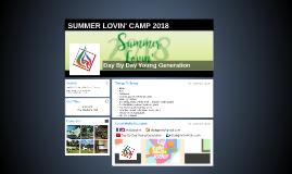 SUMMER LOVIN' 2018