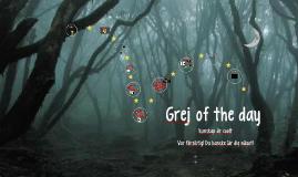 Grej of the day - Häxor
