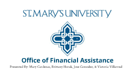Office of Financial Assistance