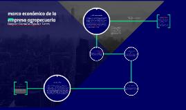 marco económico de la empresa agropecuaria