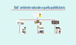 Copy of Dall'ambiente naturale a quello pubblicitario
