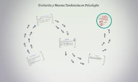 Evolución y nuevas tendencias en Psicología