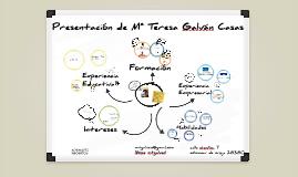 Presentación Mª Teresa Galvan