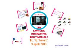 LIM lezione n°1 IC Ferrari, Parma