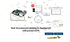 Real-time keyword spotting on RaspberryPi with pruned LSTM