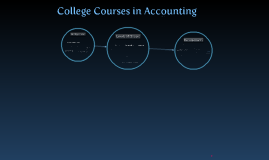 Accounting and Colleges