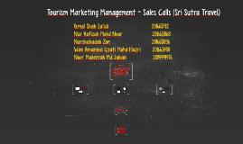 Tourism Marketing Management - Sales Calls