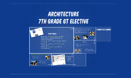 Architecture 7th GT Elective
