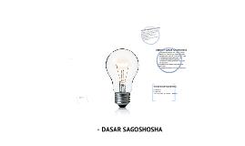 pembentangan pengajian am (DASAR SAGOSHOSHA)