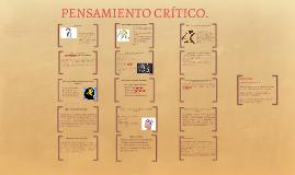 Copy of PENSAMIENTO CRÍTICO.