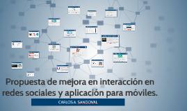 Propuesta de mejora en Redes Sociales y Aplicacion para moviles de Radio Ambiental FM