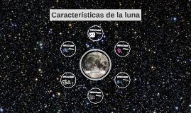 Copy of Características de la luna