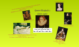 Copy of Queen Elizabeth 1