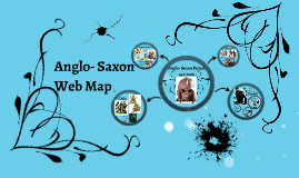 Anglo-Saxon Web Map