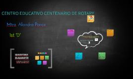 CENTRO EDUCATIVO CENTENARIO DE ROTARY